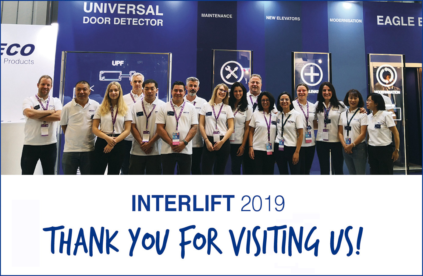 Interlift 2019 – Thank you for visiting us